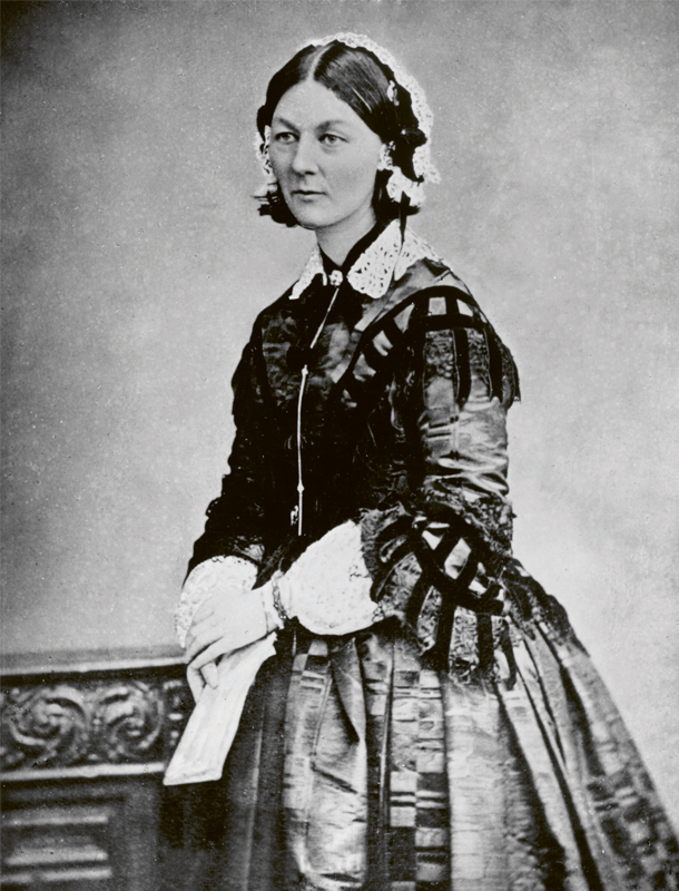 Historische Talente Florence Nightingale