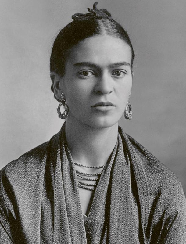 Historische Talente Frida Kahlo
